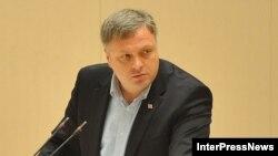 Грузия парламентінің депутаты Георгий Барамидзе.