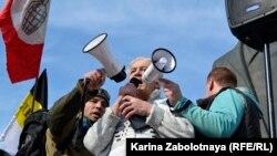 Митинг в Архангельске, 7 апреля