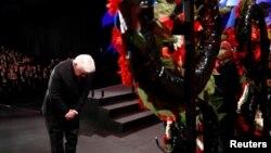 Президентът на Германия Франк-Валтер Щайнмайер се поклания на мемориала на жертвите на Холокоста в Йерусалим