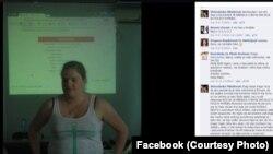 Slika Erle Dur Magnusdotir sa radionice u Kruševcu i komentarima sa Fejsbuka