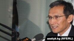 Қырғызстан премьер-министрінің орынбасары Жоомарт Оторбаев.