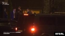 Президент Порошенко на весіллі сина Юрія Луценка