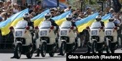 Во время празднования Дня Независимости Украины. Киев, 24 августа 2007 года