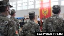 Vojnici Oružanih snaga Crne Gore.