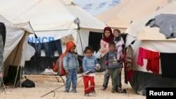 Сиријски бегалци.