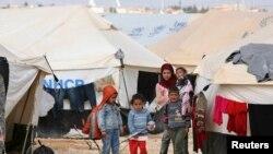 Камп со сириски бегалци во Турција