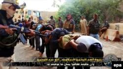 Džihadisti su 15. juna pustili ovu fotografiju na svom tviter nalogu, datum kad je napravljena je nepoznat
