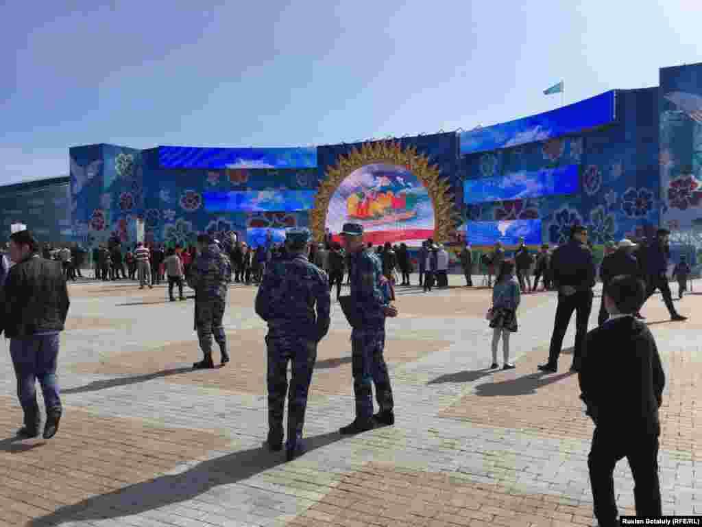 Астана қаласындағы мерекелік шаралар.