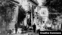 Дача Столыпина после взрыва