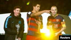 Lionel Messi və Luis Suarez
