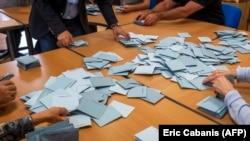 Brojanje glasova u Francuskoj