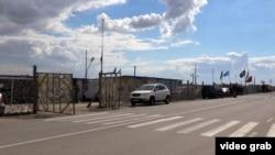 Адмінкордон із Кримом, архівне фото