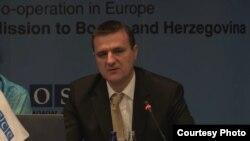 Mario Janeček, stručni savjetnik za borbu protiv terorizma pri Ministarstvu sigurnosti BiH.