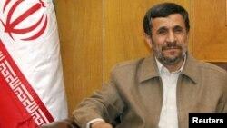 Iran President Mahmud Ahmadinejad (file photo)
