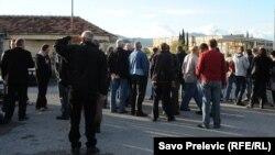 Podgorica: Uzaludna radnička blokada KAP-a