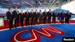 دومین مناظره جمهوریخواهان توسط شبکه خصوصی CNN برگزار شد.