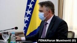 Членот на Претседателството на Босна и Херцеговина Жељко Комшиќ