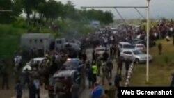 Волнения в дагестанском поселке Ленинаул