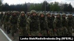 Військові в Одесі, 1 травня 2015 року