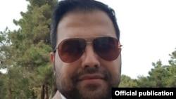 تصویری از مسعود مولوی که در حساب توئیتر او منتشر شده است