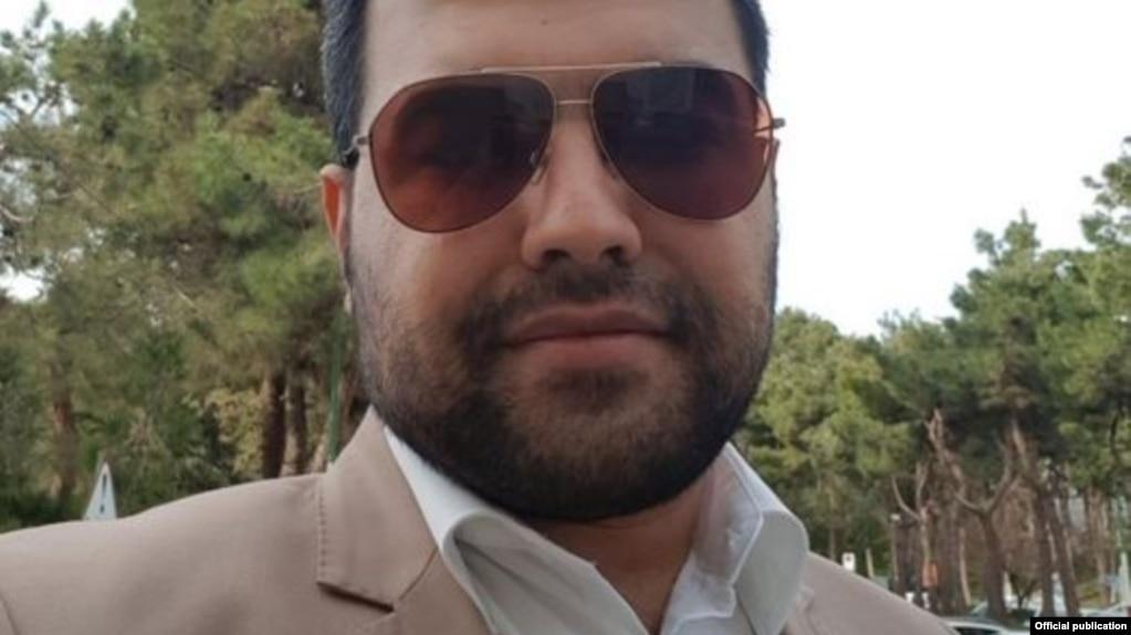 تصویری از مسعود مولوی که در اکانت توییتر او منتشر شده است.