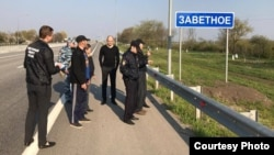 Следственный эксперимент в Ставропольском крае, фото предоставлено пресс-службой МВД по региону