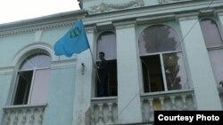 Так сейчас выглядит здание Меджлиса крымских татар в Симферополе
