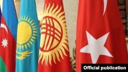Флаги стран-участниц ССТГ.
