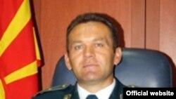 Началник на генералштабот на АРМ, генерал Горанчо Котески.
