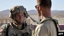 U.S. Army Staff Sergeant Robert Bales (left)
