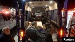 В Израиль доставлены тела четырех погибших при нападении 9 января на кошерный магазин в Париже, 13 января 2015 года