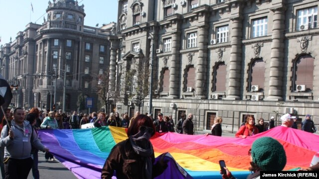 The last gay pride parade in Belgrade in 2010 was marred by violence