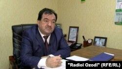 Давлат Сафар, як масъули вазорати фарҳанги Тоҷикистон.