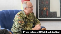 Generalul Eberhard Zorn, șeful Statului Major General al Germaniei