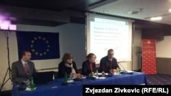 Konferencija za novinare nakon okončanja projekta, Sarajevo, februar 2012.