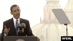 Barak Obama Praqada, 5 aprel 2009