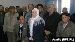 Фаузия Байрамова в суде