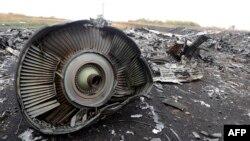 На месте падения самолета компании Malaysia Airlines на востоке Украины
