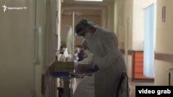 Բուժաշխատողներերևանյան հիվանդանոցներից մեկում, արխիվ