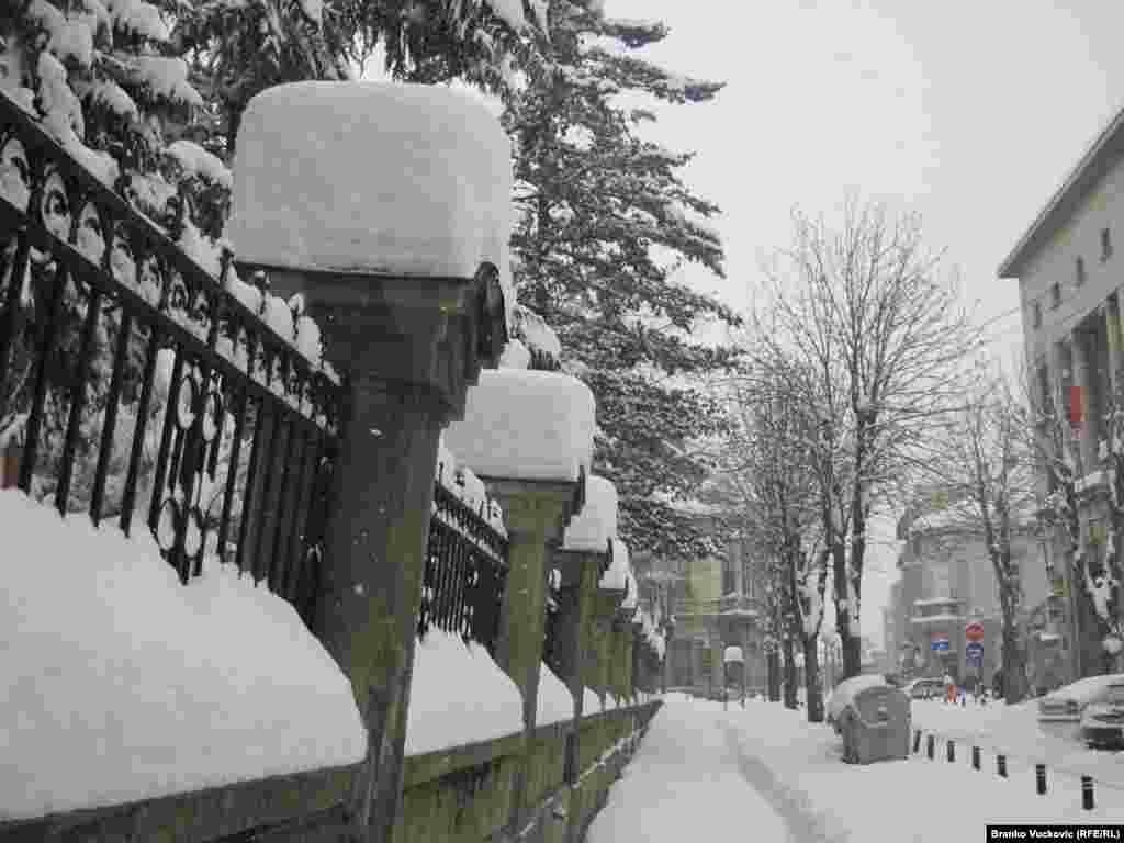Kragujevac, Srbija, 7. februar, 2012.