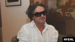 Goran Bregović za vrijeme intervjua za RSE