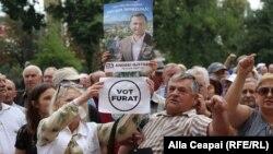 Un nou protest la Chișinău
