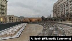 Хохловская площадь в Москве, одно из мест, где действовал подозреваемый в отравлении москвичей