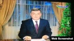 Абдумўмин Ўтбосаров 31 декабрь куни президентнинг Янги йил табригини ўқиб эшиттирган эди
