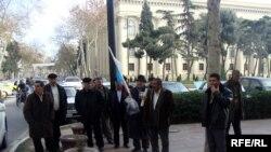 MSK-nın qarşısında etiraz, 26 dekabr 2009
