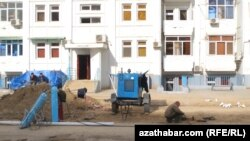 Жилой дом в микрорайоне Мир-7, Ашхабад, 6 сентября, 2017