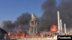 «Фестиваль, який згорів від сорому»: У Криму згоріли залишки «КаZантипу»