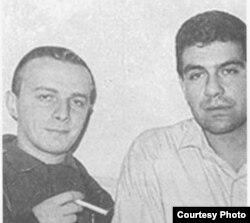 Андрей Арьев и Сергей Довлатов. Ленинград, 1960-е годы