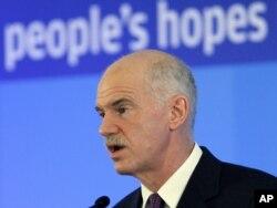 Grčki premijer Jorgos Papandreu, arhivska fotografija