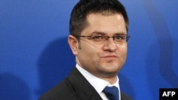"Serbian Foreign Minister Vuk Jeremic claimed Serbs in Kosovo live in ""ghetto-like"" conditions."